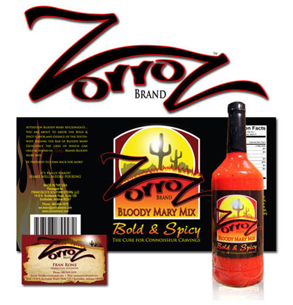 ZorroZ Bloody Mary Mix