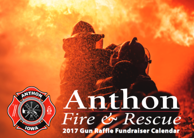 Fireman's Raffle Calendar – Anthon, Iowa